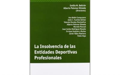 Libro: La insolvencia de las entidades deportivas profesionales