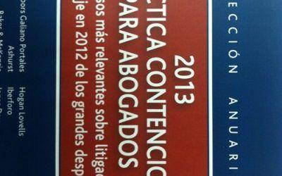 Libro: Práctica contenciosa para abogados 2013