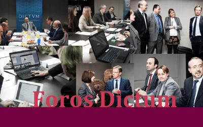 Foro Dictum: Acuerdos de refinanciación y reestructuración de deudas empresariales