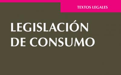 Libro: Legislación de consumo