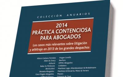 Libro: Práctica Contenciosa para abogados 2014