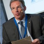 Ricardo Palomo durante la presentación del Observatorio de ética en los negocios