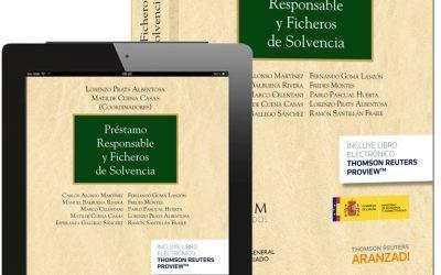 Libro: Préstamo responsable y ficheros de solvencia