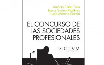Libro: El concurso de las sociedades profesionales