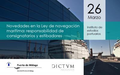 Foro: Novedades en la Ley de navegación marítima