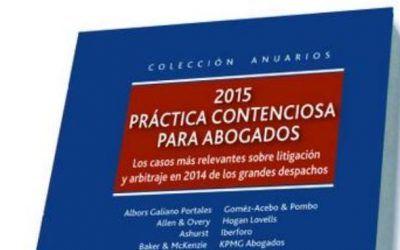 Libro: Práctica contenciosa para abogados 2015