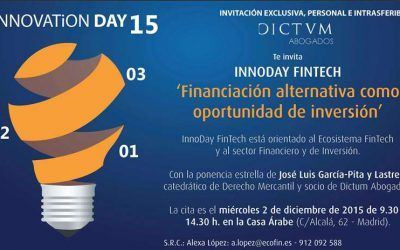 Jornada para inversores y plataformas de crowdfunding: Las claves de la Ley de fomento de la financiación empresarial y situación del mercado