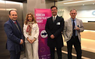 Dictum Abogados asiste a la Korean Arbitration Night