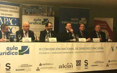 Socios y profesionales de Dictum, en la III Convención Nacional de Derecho Concursal