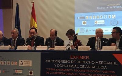Dictum, en el XIII Congreso de Derecho Mercantil y Concursal de Andalucía