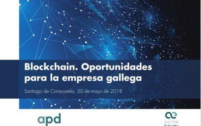 """Dictum Abogados colabora en la jornada """"Blockchain. Oportunidades para la empresa gallega"""""""