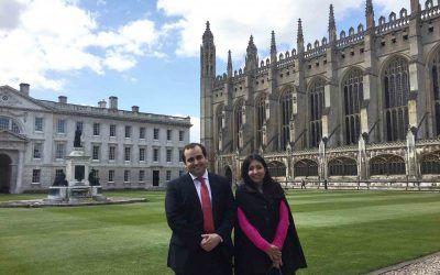 Aurelio Gurrea Martínez y Nydia Remolina presentan su trabajo sobre ICO en la Universidad de Cambridge