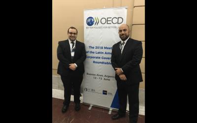 Aurelio Gurrea Martínez participa en la mesa de gobierno corporativo de la OCDE en Argentina