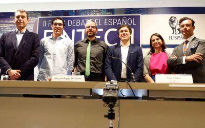 El CEO y socio de Dictum, Vicente García Gil, interviene en el II Foro Fintech del diario El Español