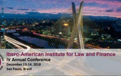Dictum Abogados viaja a Sao Paulo para participar en la IV Conferencia Anual del Instituto Iberoamericano de Derecho y Finanzas