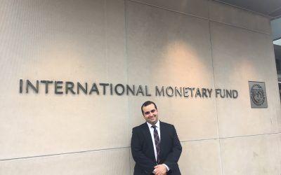 Aurelio Gurrea Martínez, en la SEC de Estados Unidos y el Fondo Monetario Internacional
