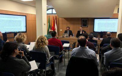 El socio Antonio Caba, coordinador y ponente del Curso de Experto en Derecho de la Empresa del ICAMÁLAGA