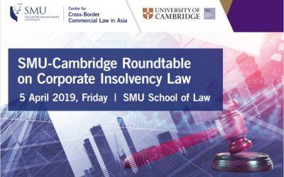 El socio Aurelio Gurrea Martínez organiza junto a la Universidad de Cambridge una jornada sobre Derecho concursal en Singapur