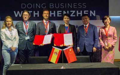 Dictum afianza su cooperación con China y Shenzhen