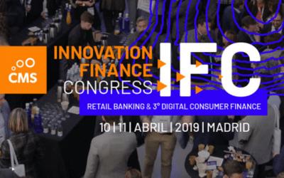 El socio Juan Carlos Rodríguez Maseda, ponente del Innovation Finance Congress 2019