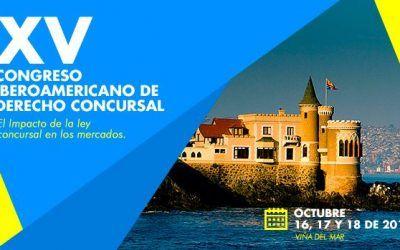 Los socios de Dictum, ponentes del XV Congreso Iberoamericano de Derecho Concursal