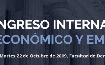 Juan Carlos Rodríguez Maseda y Ana Belén Campuzano participan en el I Congreso Internacional de Derecho Económico y Empresarial de Buenos Aires