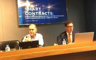 Vicente J. García Gil habla de smart contracts y sus oportunidades profesionales en el Colegio de Abogados de Alicante