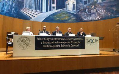 Juan Carlos Rodríguez Maseda y Ana Campuzano, ponentes del I Congreso Internacional de Derecho Económico y Empresarial