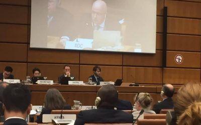 Aurelio Gurrea Chalé participa en la reunión de UNCITRAL en Viena como presidente del Instituto Iberoamericano de Derecho Concursal