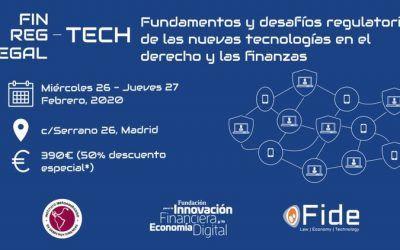 Aurelio Gurrea Martínez y Vicente García Gil, en la dirección académica del Congreso de Fintech, Regtech y Legaltech