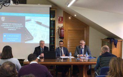 """Antonio Caba participa en el """"II curso sobre aspectos esenciales contables y económico-financieros de la empresa"""" del ICAMÁLAGA"""
