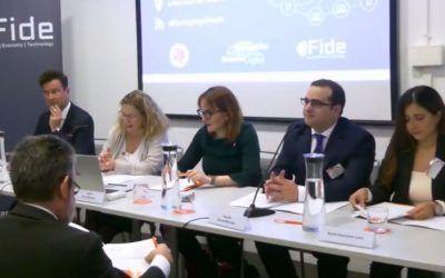 Éxito de participación en el Congreso de Fintech, Regtech y Legaltech organizado por FIFED, FIDE y el IIDF