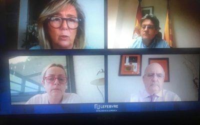 Ana Belén Campuzano y Aurelio Gurrea Chalé, ponentes del Congreso de Derecho Concursal de Lefebvre