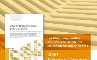 "Dictum colabora en el anuario ""Práctica mercantil para abogados 2020"""
