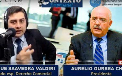 Aurelio Gurrea Chalé habla de la flexibilización del régimen de insolvencia empresarial para la radio colombiana