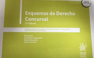 """Dictum colabora en la 12ª edición de """"Esquemas de Derecho concursal"""", que codirige Ana Belén Campuzano"""