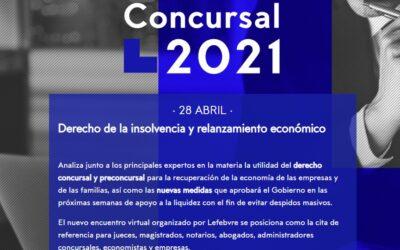 Ana Belén Campuzano, ponente del Congreso Concursal 2021 de Lefebvre