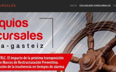 Ana Belén Campuzano participa en los Coloquios Concursales de Vitoria-Gasteiz