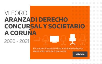 José Luis García-Pita participa en el VI Foro Aranzadi Concursal y Societario de La Coruña