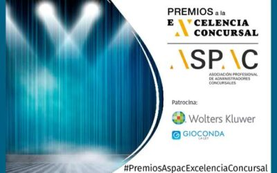 Ana Belén Campuzano, finalista de los I Premios ASPAC a la Excelencia Concursal